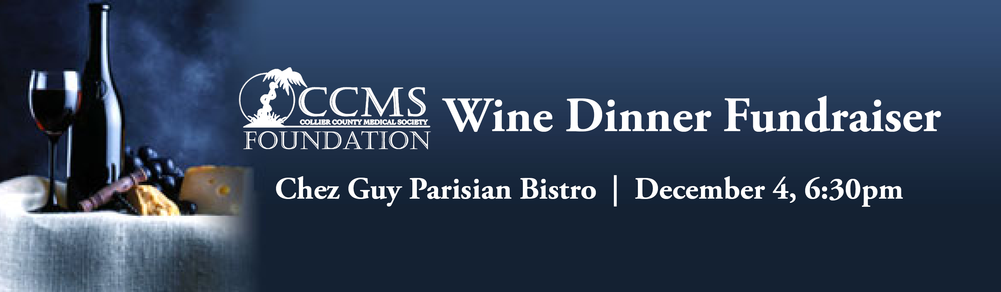 FCCMS Wine Dinner Banner